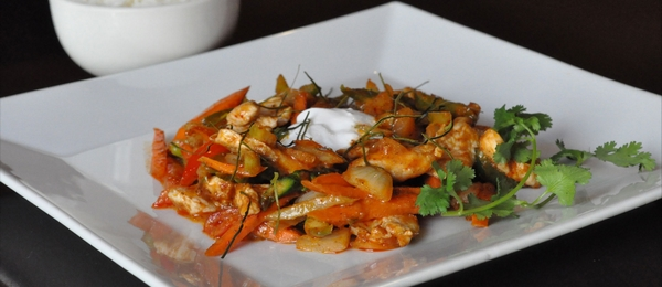 Chicken Pad Panang Stir Fry